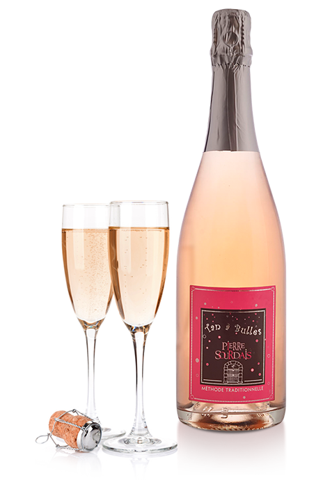 chinon rosé pétillant Pierre Sourdais
