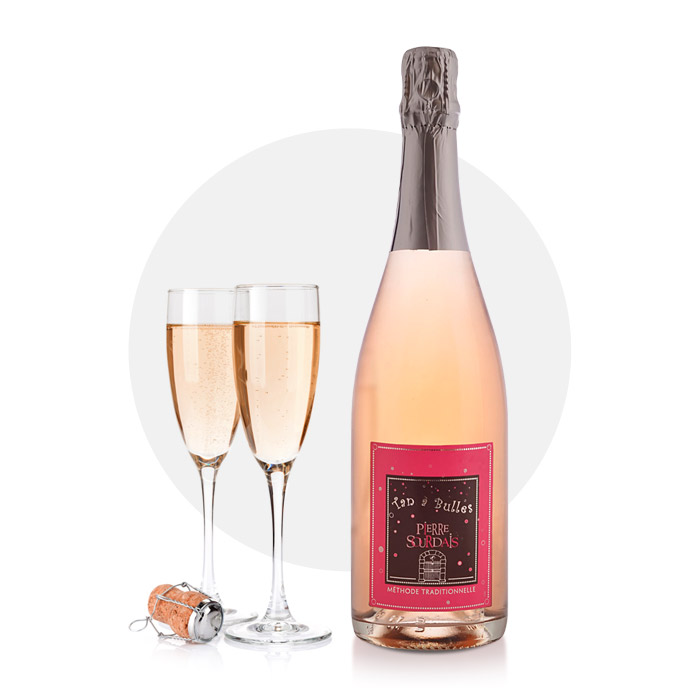 chinon rosé pétillant - pierre sourdais