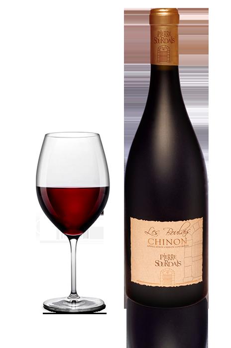 Vin rouge Chinon - réserve stanislas - Pierre Sourdais