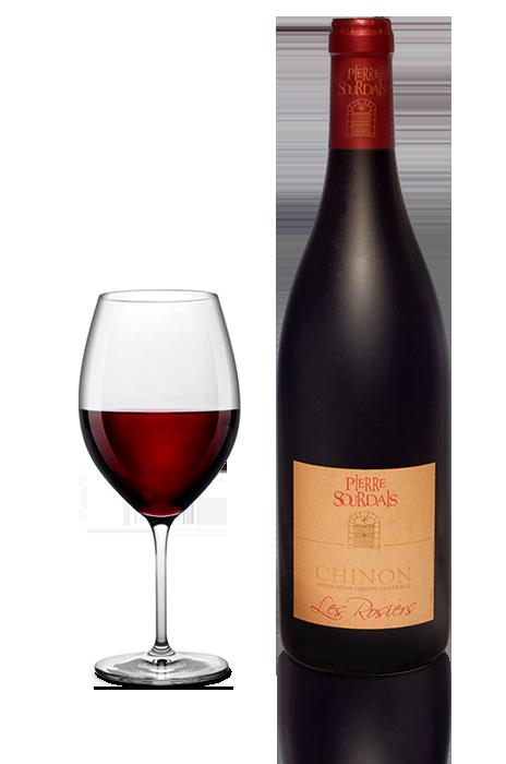 Vin rouge Chinon - Les Rosiers - Pierre Sourdais