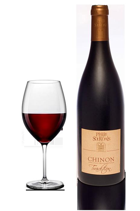 Vin rouge Chinon - tradition - Pierre Sourdais