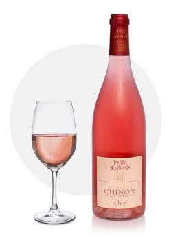 chinon rosé - pierre sourdais