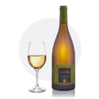 vin blanc chinon - cornuelles pierre sourdais