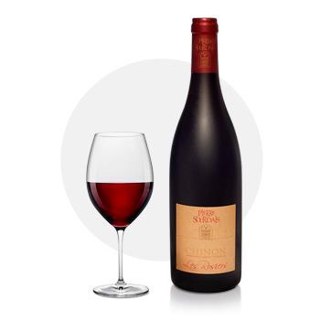 Vin chinon - les rosiers pierre sourdais