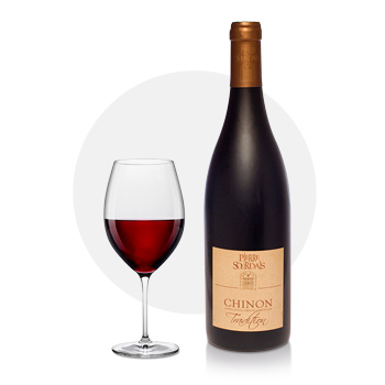 chinon rouge - tradition pierre sourdais
