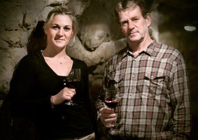 Caroline et Pierre Sourdais